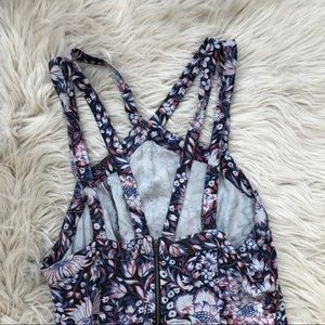 Urban Outfitters Pants - UO Ecote Patterned Strappy Romper